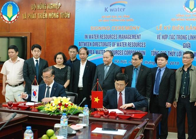 Việt Nam – Hàn Quốc hợp tác trong lĩnh vực thuỷ lợi